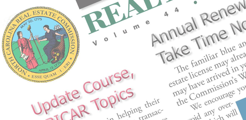 North Carolina Real Estate Commission Bulletin