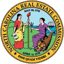 An image of the North Carolin Real Estate Seal.
